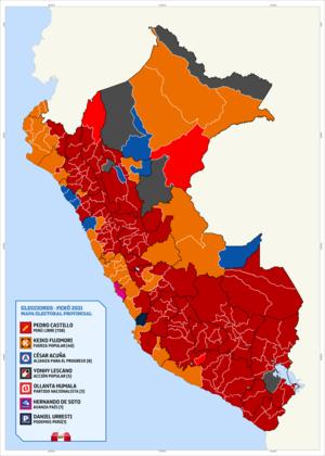 Elecciones generales de Perú de 2021