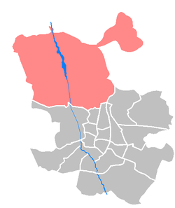 Location of Fuencarral-El Pardo