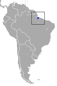 Marajó Short-tailed Opossum area.png