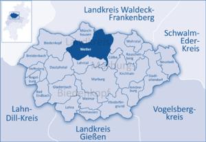 Wetterkarte Hessen