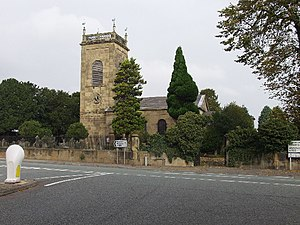 Marchwiel - Image: Marchwiel Parish Church geograph.org.uk 65687