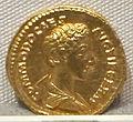Marco aurelio, aureo per commodo cesare, 175-180 ca. 02.JPG