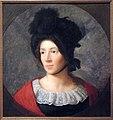 Maria Franziska Diogg (1793-1855), Tochter des Malers, Öl auf Leinwand (doubliert), um 1814 - Felix Maria Diogg - Stadtmuseum Rapperswil 2013-04-06 15-11-35 (P7700).JPG