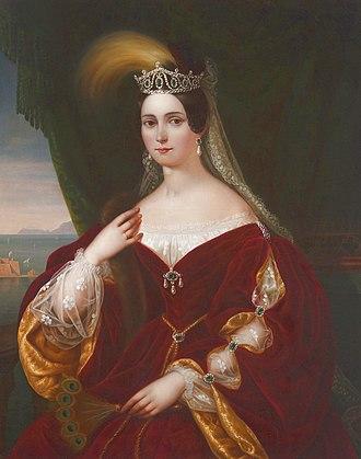 Princess Henrietta of Nassau-Weilburg - Image: Maria Teresa d'Austria Teschen