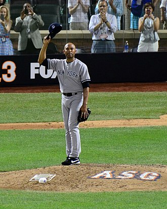 2013 Major League Baseball All-Star Game - During his entrance in the 8th inning, Mariano Rivera received a standing ovation from both teams and the fans.