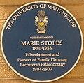 MarieStopesBluePlaque.JPG