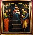 Mariotto albertinelli, madonna col bambino, santi e donatore, 1514, da s. michele a volognano (rignano sull'arno) 01.JPG