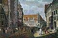 Marktplatz Hannover. Farbige Lithographie von Rudolph Wiegmann 1834.jpg