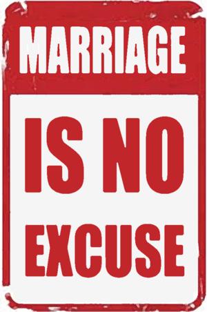 R v R - An anti marital rape sign