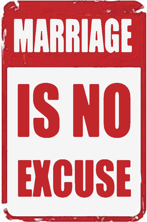 Marriage is no excuse for rape