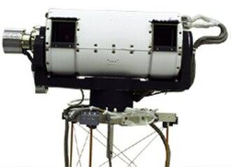 Mars Polar Lander - Image: Mars Polar Lander SSI instrument photo ssi closeup s