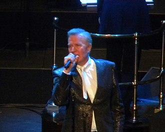Martin Fry - Image: Martin Fry ABC Albert Hall