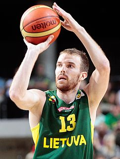 Martynas Gecevičius Lithuanian professional basketball player
