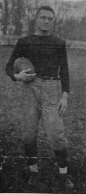 """Marvin Pierce - Marvin """"Monk"""" Pierce, Captain of the 1915 Miami University Football team"""