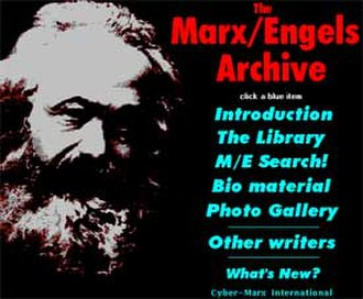 Marxists Internet Archive - The forerunner of Marxists Internet archive was the Marx-Engels Archive, available on the Internet since 1993.