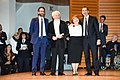 Massimo de Vita, Deniela Airoldi e Giuseppe Sala Abrogino d'oro.jpg