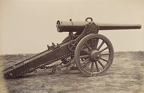 Cannone 155 mm L Mle 1877.