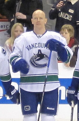 Mats Sundin - Sundin with the Vancouver Canucks in February 2009, a month after making his debut with the team.