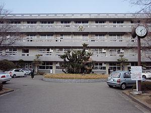 Ehime Prefectural Matsuyama Higashi High School - Image: Matsuyama Higashi
