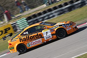 Matt Neal - Neal won his second BTCC title in 2006.