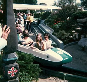 Arrow Dynamics - Matterhorn Bobsleds, the first Arrow Development roller coaster.