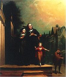 The Scarlet Letter Olgemalde Von T H Matteson 1860