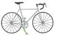 Maurice Houbracken's bicycle.png