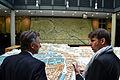 Mauricio Macri con el urbanista Ares Kalandises en Berlín (6964170474).jpg
