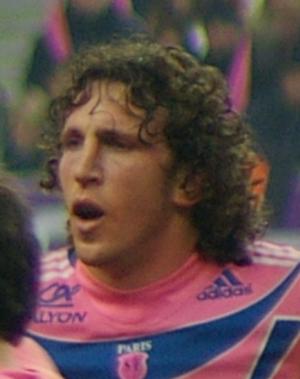 Mauro Bergamasco - Mauro Bergamasco playing for Stade Français