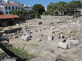 Mausoleo di alicarnasso, piano con rovine 10.JPG