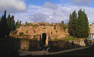 Mausoleum of Augustus - The Mausoleum of Augustus.