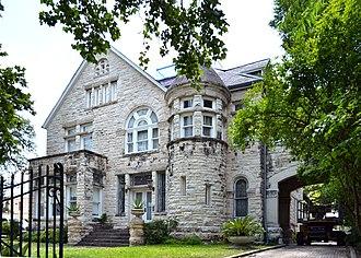 Alfred Giles (architect) - Maverick-Carter house