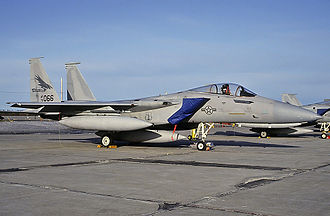 CFB Goose Bay - US Air Force McDonnell Douglas F-15A Eagle at CFB Goose Bay