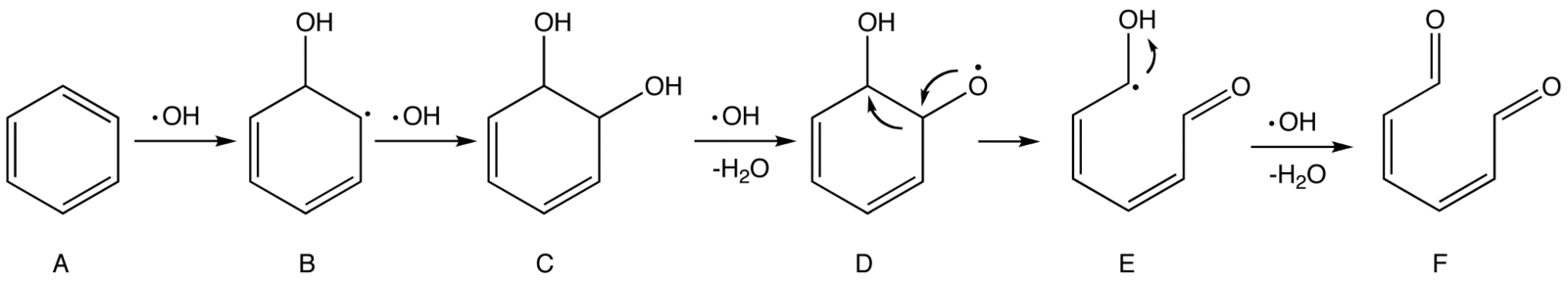 Oxidation Ozone Mechanism Mechanism of The Oxidation