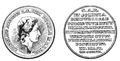 Medal commemorating Churche of God`s Providence in Warsaw 1792.PNG