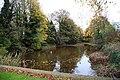 Mediæval Fishpond at Magdalen College School, Brackley, Northants - geograph.org.uk - 738503.jpg