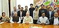 Media Persons from Chhattisgarh and Jharkhand call on the Prime Minister, Shri Narendra Modi, in New Delhi on December 02, 2015.jpg