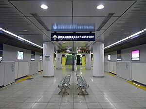 Tokyo Metro - Typical Tokyo Metro station, with half-height platform doors (Meiji-Jingūmae on the Fukutoshin Line)