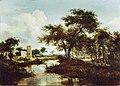 Meindert Hobbema - A Ruin on the Bank of a River WLC WLC P60.jpg