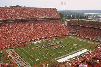 Upstate South Carolina - Clemson University Memorial Stadium