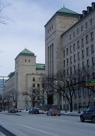 East and West Memorial Buildings - Memorial Buildings