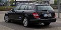 Mercedes-Benz C 250 CDI BlueEFFICIENCY T-Modell Elegance (S 204) – Heckansicht, 15. April 2012, Mettmann.jpg