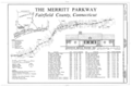 Merritt Parkway, Beginning in Greenwich and running 38 miles to Stratford, Greenwich, Fairfield County, CT HAER CONN,1-GREWI,2- (sheet 3 of 21).png