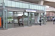 Ingang metrostation Nesselande
