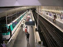 Ligne 7 du m tro de paris wikip dia - Station total porte d italie ...