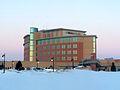 Metro Health Hospital during the winter.jpeg