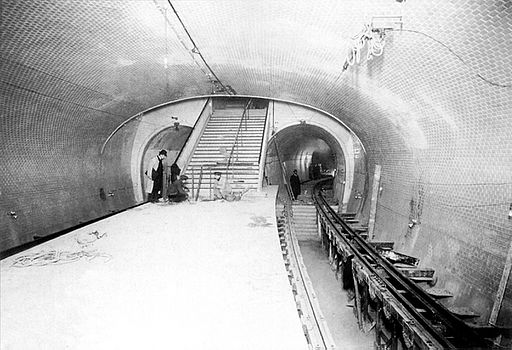 Metro de Paris - Ligne 3 - Gambetta quai depart