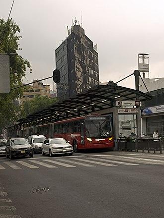 Mexico City Metrobús - Hamburgo Station
