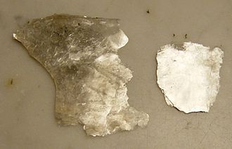 Mica - Mica flakes