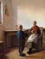 Michael Ancher - Interiør - 1889.png